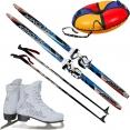 • Коньки, лыжи, сноутьюбы