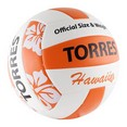 Мяч вол. ''TORRES Hawaii'' арт.V30075B, р.5, синт.кожа (ТПУ), маш. сш, бут.кам, бело-оранж-черн