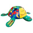 Дидактическая черепаха со шнуровкой и липучками. 115-98-30 см.
