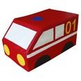 Напольная контурная игрушка ''Пожарная машина'' 50-30-25 см.