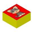 Мини-кубики с аппликацией ''Домашние Животные'' 20-20-10 см.