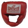 Шлем боксёрский ''SPRINTER'' закрытый, натуральная кожа.