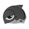 Шапочка для плав. ''ARENA AWT Fish'', дет., арт.9191511, СЕРЕБРИСТЫЙ, силикон