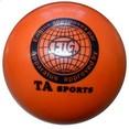 Мяч для х/г TA sport RGB-101 19 см, оранжевый