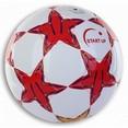 Мяч футбольный для отдыха Start Up E5126 красный|белый р5