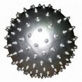 Мяч массажный Alonsa SMB-06-01 серебряный 20 см