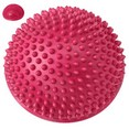 C28913-2 Полусфера массажная круглая надувная (красная) (ПВХ) d-16см