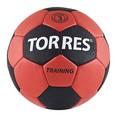 Мяч ганд. ''TORRES Training'' арт.H30022, р.2, ПУ, 5 подкл. слоев, красно-черный